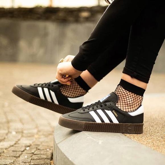 Platform Rose Nwt Samba Adidas Sneakers Originals 4LR3Aq5j